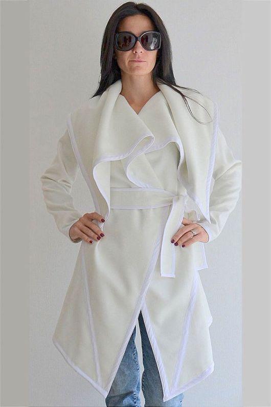 Верхняя одежда ручной работы. Ярмарка Мастеров - ручная работа. Купить Пальто  White Fantasy. Handmade. Пальто, красивая одежда