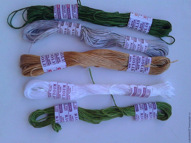 Шерстяные нитки для вышивания RIOLIS Купить 70