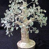 Цветы и флористика ручной работы. Ярмарка Мастеров - ручная работа Аквамариновое дерево ваш Оберег и Талисман. Handmade.