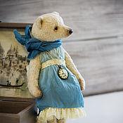 Куклы и игрушки ручной работы. Ярмарка Мастеров - ручная работа Женевьева. Мишка тедди 24см. Винтажный плюш. Handmade.