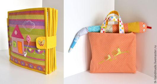 Внешний вид и сумочка с игрушкой