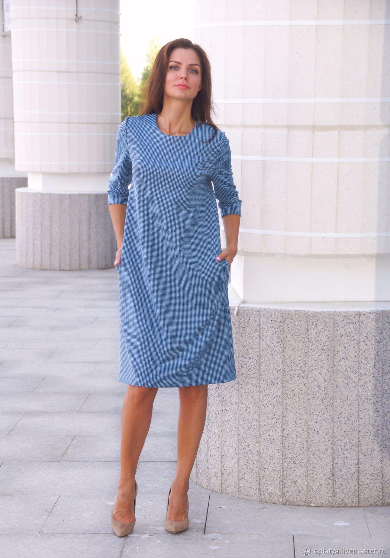 9425031aed8 Платье миди Наталья – купить в интернет-магазине на Ярмарке Мастеров ...