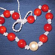 Украшения handmade. Livemaster - original item Necklace on a cord