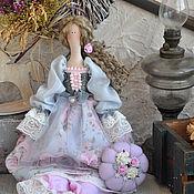 "Куклы и игрушки handmade. Livemaster - original item Кукла в стиле Тильда ""Розовый иней"". Handmade."