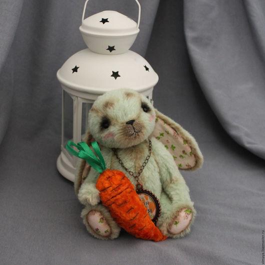 Мишки Тедди ручной работы. Ярмарка Мастеров - ручная работа. Купить Тедди зая Мяшка. Handmade. Тедди, плюш