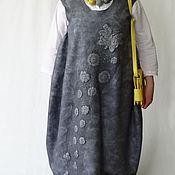 Одежда ручной работы. Ярмарка Мастеров - ручная работа Валяный сарафан в стиле бохо.. Handmade.