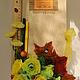 """Букеты ручной работы. Классный журнал из конфет """"Лимон"""". МишУля-sweet сладкие подарки. Ярмарка Мастеров. День учителя, преподавателю"""