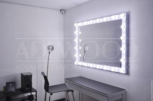 Зеркала ручной работы. Ярмарка Мастеров - ручная работа. Купить Зеркало с подсветкой. Handmade. Мебель, салон красоты, принцесса, девушка