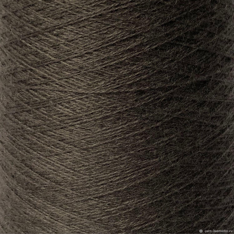 Пряжа Кашемир 2/28 коричнево-зеленый – купить на Ярмарке Мастеров – M36V4RU | Пряжа, Санкт-Петербург