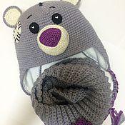 """Работы для детей, ручной работы. Ярмарка Мастеров - ручная работа Комплект зимний для девочки """"Мишка Тедди"""". Handmade."""