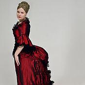 Одежда ручной работы. Ярмарка Мастеров - ручная работа историческое платье с комплектом белья. Handmade.