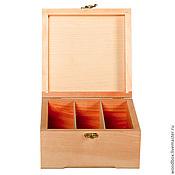 Материалы для творчества handmade. Livemaster - original item 202010P3 Box with vertical cells 20 20 10 cm.. Handmade.
