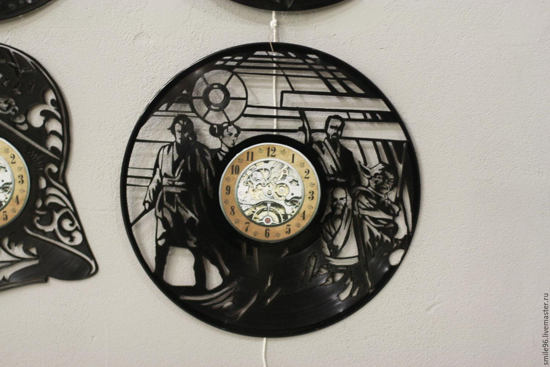 фото сова из пластинок виниловых представляет большую
