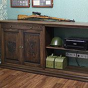 Для дома и интерьера ручной работы. Ярмарка Мастеров - ручная работа Деревянная тумба (001). Handmade.