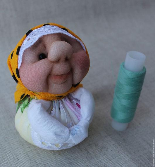 Персональные подарки ручной работы. Ярмарка Мастеров - ручная работа. Купить Текстильная куколка оберег. Хозяюшка Благополучница.. Handmade. для женщины