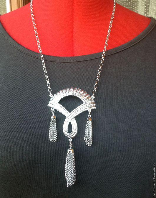 Винтажные украшения. Ярмарка Мастеров - ручная работа. Купить Винтажное ожерелье от Sarah Coventry, 1950-53г. Handmade. Ожерелье, винтажный