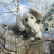 Куклы и игрушки ручной работы. Ярмарка Мастеров - ручная работа Белый слон махнул крылом. Handmade.