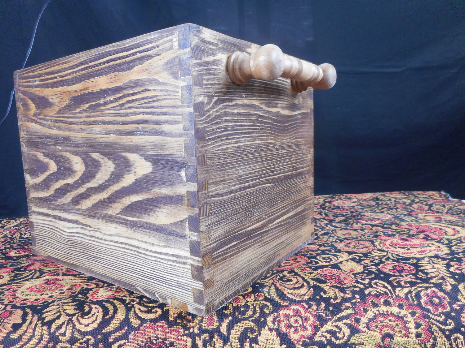 Storage box with chiseled handles, Crates, Lyubertsy,  Фото №1