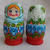Русский стиль handmade. Livemaster - original item Matreshka 5 places .The Russian woman .. Handmade.
