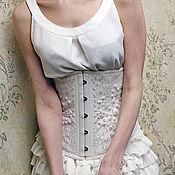 """Одежда ручной работы. Ярмарка Мастеров - ручная работа Корсет """"Графиня Элен"""" подгрудный. Handmade."""
