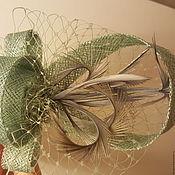 """Украшения ручной работы. Ярмарка Мастеров - ручная работа Украшение для волос """" Туманная дымка"""". Handmade."""