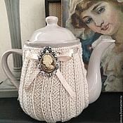 """Чайники ручной работы. Ярмарка Мастеров - ручная работа Чайник с грелкой """"Кофе с молоком"""". Handmade."""