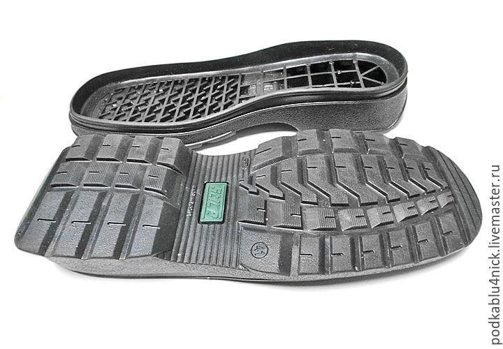 Подошва для обуви Тритон, Материалы, Липецк, Фото №1