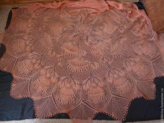 Текстиль, ковры ручной работы. Ярмарка Мастеров - ручная работа. Купить скатерть. Handmade. Скатерть ручной работы, скатерть спицами