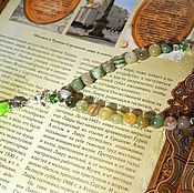 Фен-шуй и эзотерика handmade. Livemaster - original item Rosary made of natural agate
