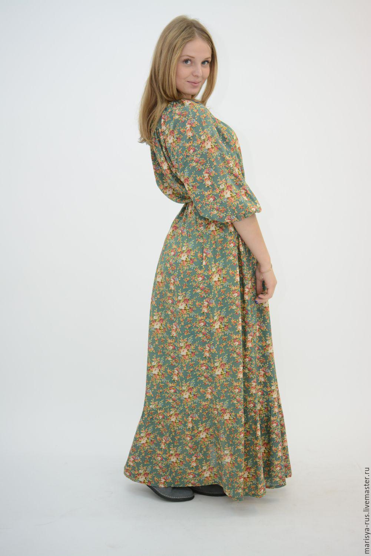 Нарядные штапельные летние платья