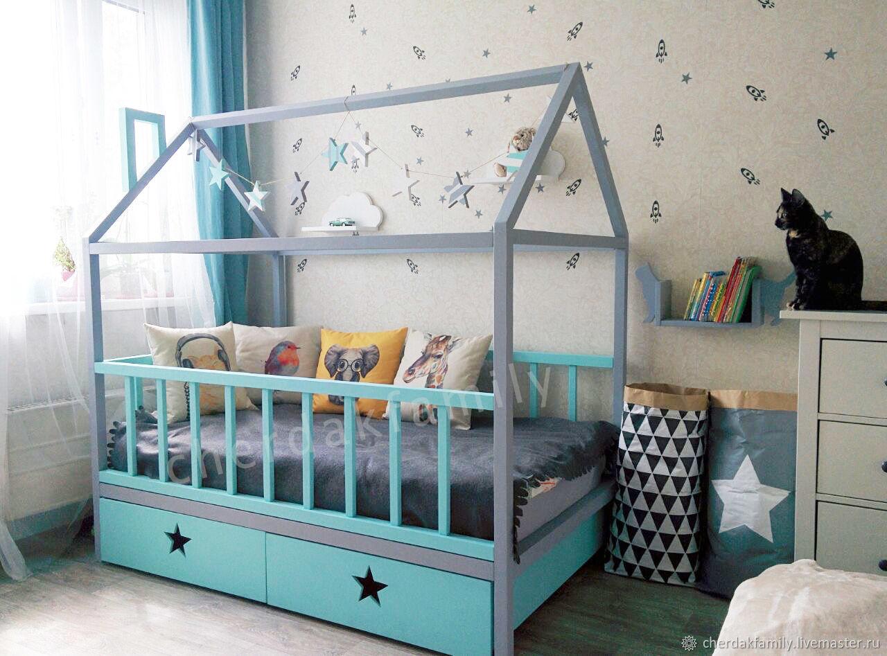 кровать дом купить Москва