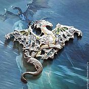 Субкультуры ручной работы. Ярмарка Мастеров - ручная работа дракон удачи. Handmade.