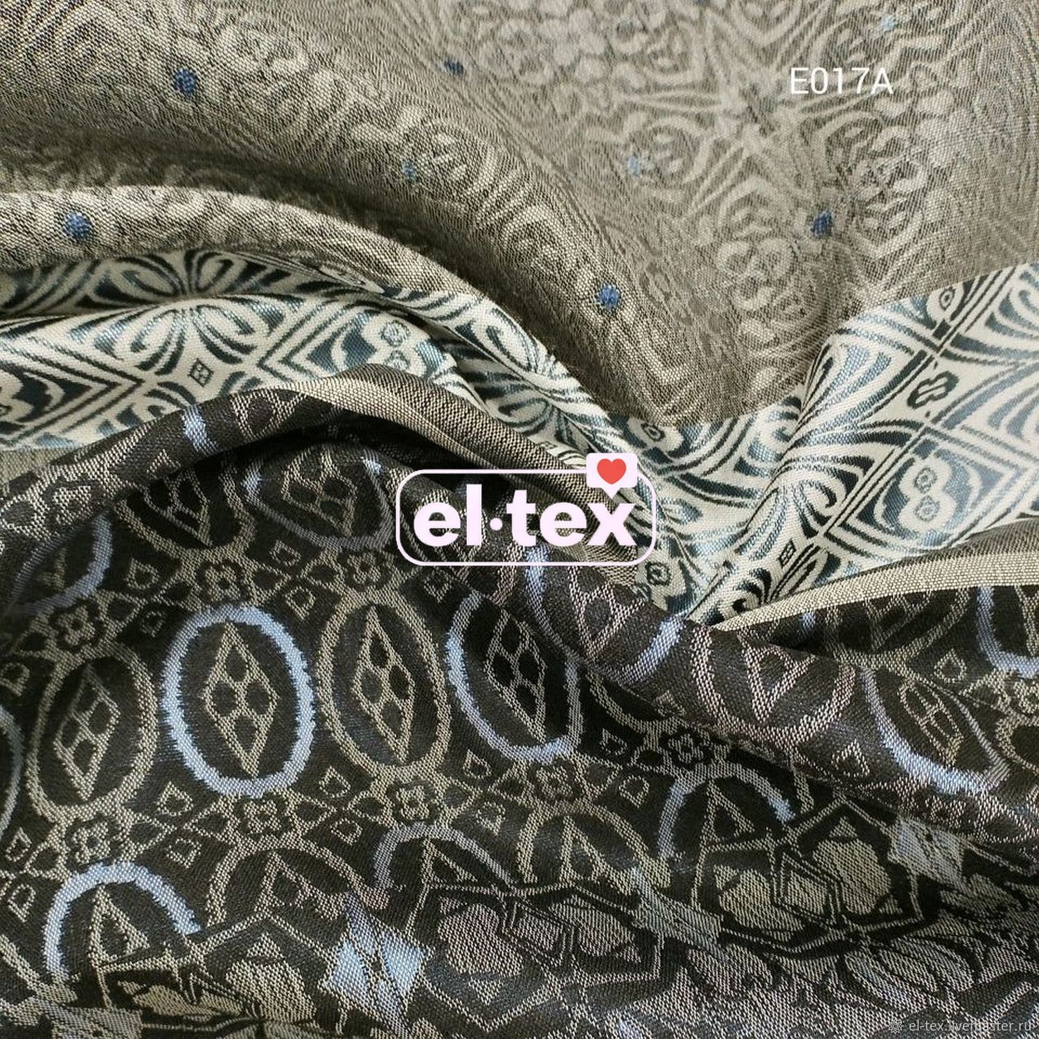 Jacquard double-sided No. 43 Piece 30h51 cm, Fabric, Moscow,  Фото №1