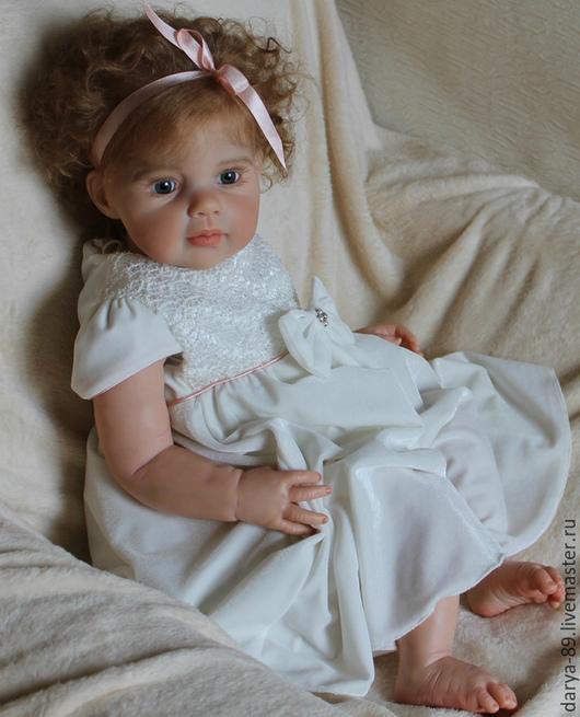 Куклы-младенцы и reborn ручной работы. Ярмарка Мастеров - ручная работа. Купить Малышка Елизавета из молда Louisa от Jannie de Lange. Handmade.