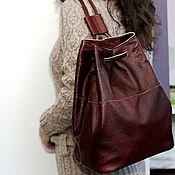 Сумки и аксессуары ручной работы. Ярмарка Мастеров - ручная работа Городской рюкзак из натуральной кожи. Handmade.