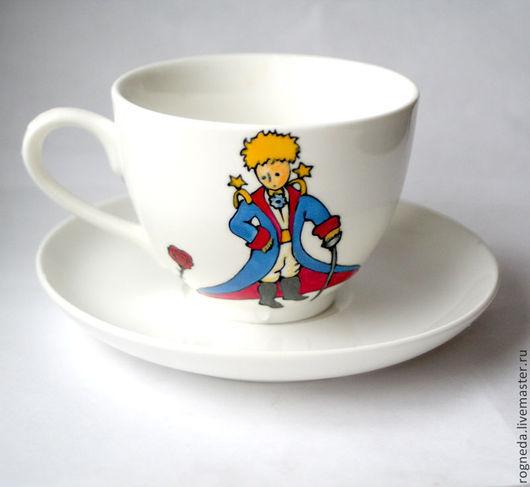 """Сервизы, чайные пары ручной работы. Ярмарка Мастеров - ручная работа. Купить Чайная пара """"Маленький принц"""". Handmade. Разноцветный"""