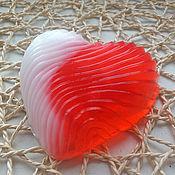 Косметика ручной работы. Ярмарка Мастеров - ручная работа Мыло Сердце для влюбленных. Handmade.