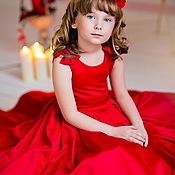 Работы для детей, ручной работы. Ярмарка Мастеров - ручная работа Michelle  нарядное платье. Handmade.