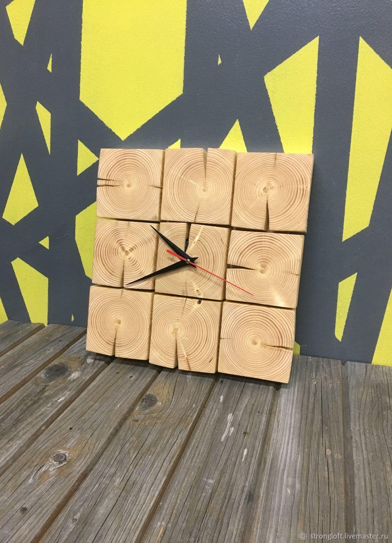 Часы Лофт ЭКО Loft clock, Часы, Москва,  Фото №1
