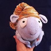Куклы и игрушки ручной работы. Ярмарка Мастеров - ручная работа Вязаный барашек Ярик. Handmade.