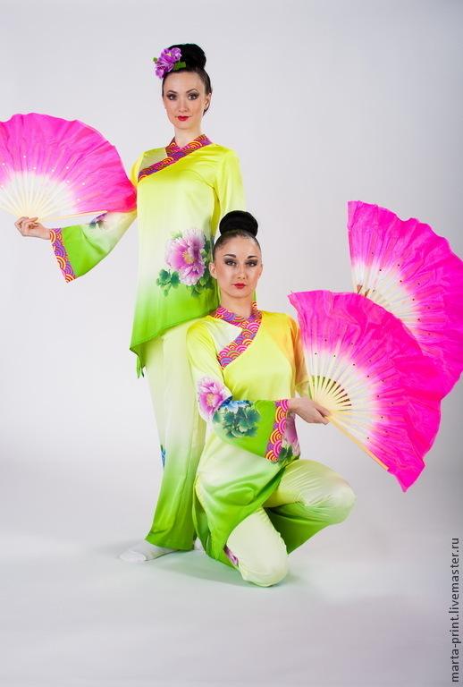 Китайский танцевальный костюм