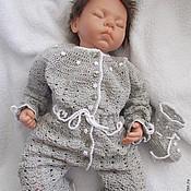 Работы для детей, handmade. Livemaster - original item Eco Romper silk is sensitive or unbalanced.. Handmade.