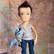 Куклы и игрушки handmade. Livemaster - original item Denim. Handmade.