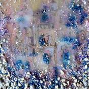 Pictures handmade. Livemaster - original item Painting decorative Pearl city in the Underwater Kingdom. Handmade.