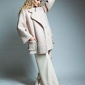 Одежда ручной работы. Ярмарка Мастеров - ручная работа Пальто пыльная роза. Handmade.
