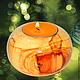 Подсвечники ручной работы. Ярмарка Мастеров - ручная работа. Купить Подсвечник со свечкой подставка под свечи Декор. Новый год. Handmade.