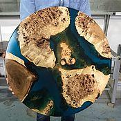 Для дома и интерьера handmade. Livemaster - original item Coffee table made of solid poplar wood. Handmade.