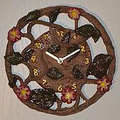 """Для дома и интерьера ручной работы. Ярмарка Мастеров - ручная работа Настенные часы """"Лиана"""". Handmade."""