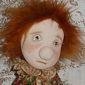 Куклы и игрушки ручной работы. Ярмарка Мастеров - ручная работа Грустняшка - текстильная кукла. Handmade.