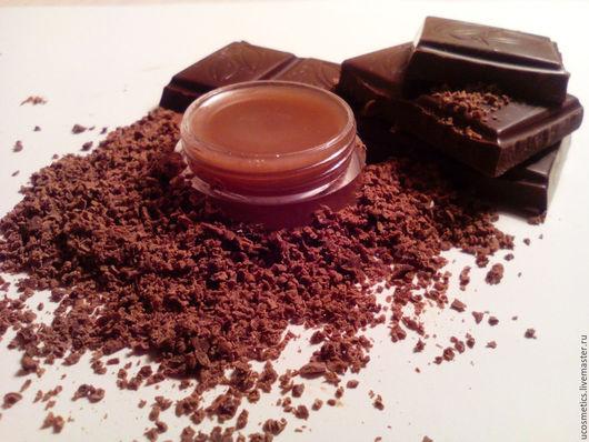 Натуральный бальзам для губ `Шоколад`